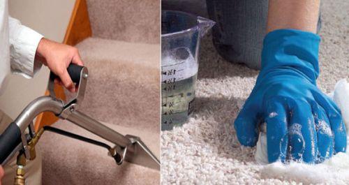 чем почистить ковролин от детской мочи будут